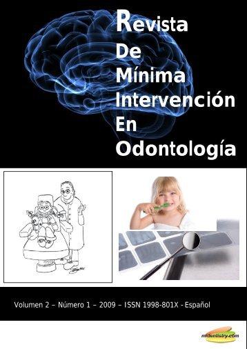 Revista De Mínima Intervención En Odontología - Midentistry