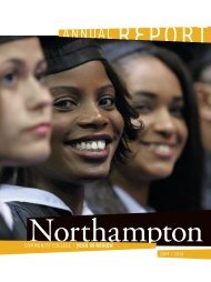 TWO THOUSAND 10 - Northampton Community College