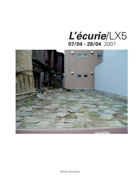 """""""L'écurie"""" en avril 2007 - LX5"""