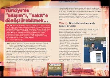 """Türkiye'de """"bilişim""""i, """"nakit""""e dönüştürebilmek… - Bilişim Dergisi"""