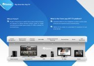 Who is Tvinci? What is the Tvinci pay OTT TV platform? - TV Connect