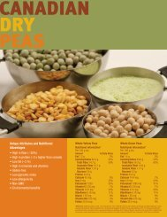 Canadian Dry Peas - Pulse Canada