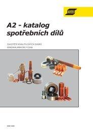 Spotřební díly pro A2 Multitrac SAW - Products - Esab
