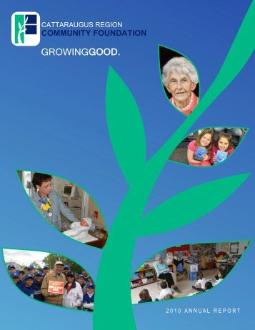 2010 Annual Report - Cattaraugus Region - Community Foundation