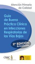 Infecciones respiratorias de vías bajas. - CGCOM