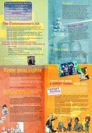 Young people's annual report poster 2009-10 - Scotland's ...