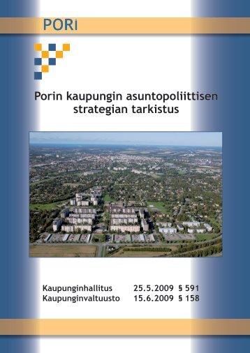 Porin kaupungin asuntopoliittisen strategian tarkistus