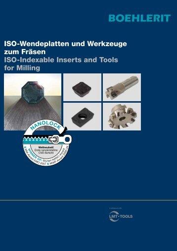 ISO-Wendeplatten und Werkzeuge zum Fräsen ISO-Indexable ...