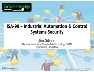 ISA-99 – Industrial Automation & Control Systems Security ...
