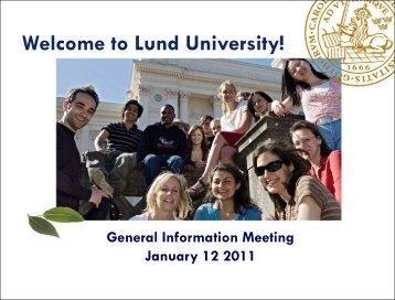Student Health Centre - Lund University - Lunds universitet