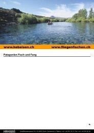 Patagonien Fisch und Fang