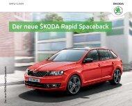 Rapid Spaceback Katalog - über den Rapid Spaceback