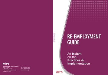 RE-EMPLOYMENT GUIDE - NTUC