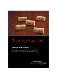 Tour des Vins 2012