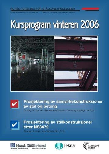 Prosjektering av samvirkekonstruksjoner av stål og betong