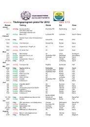 2012-03-30 Tävlingsprogram pistol för 2012 vers. 0.13