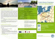 Double Degree BA Warsaw Flyer