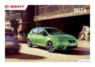 SEAT Ibiza 5 Door Brochure