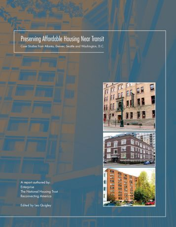Preserving Affordable Housing Near Transit - Reconnecting America