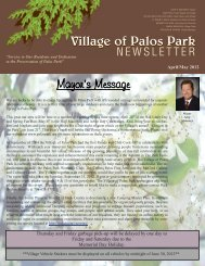 Palos Senior Club… - Village of Palos Park, Illinois