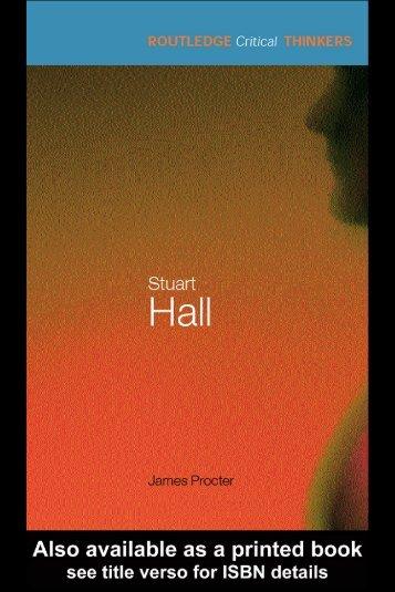 Stuart Hall - Blogs Unpad