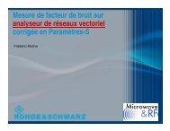 Télécharger la présentation - Microwave & RF