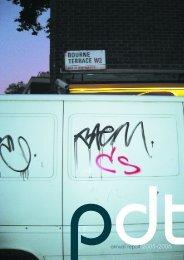 pdtannual report 2005–2006 - Paddington Development Trust