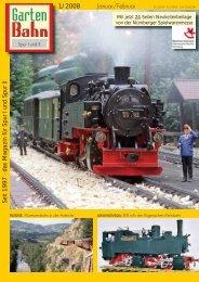 S eit 1997 - das Magazin für S p ur I und S p ur II 1 ... - Gartenbahn