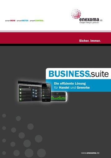 BUSINESSsuite - enexoma AG
