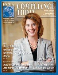 Jenny O'Brien UnitedHealth Group's Chief Medicare Compliance ...