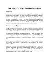 Introducción al pensamiento Bayesiano