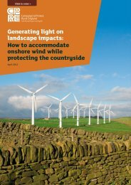 Generating light on landscape impacts - Campaign to Protect Rural ...
