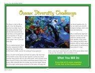 Ocean Diversity Challenge - NOAA Celebrates 200 Years of ...