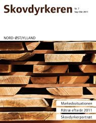 NORD-ØSTJYLLAND Markedssituationen Råtræ efterår 2011 ...