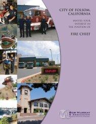 Folsom Fire Chief.pmd - Bob Murray & Associates