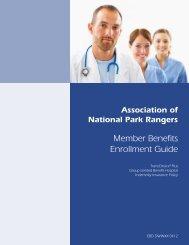 Member Benefits Enrollment Guide - Association of National Park ...
