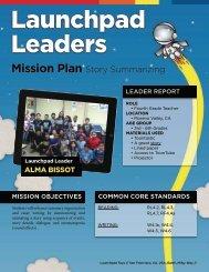 Mission Plan Story Summarizing - Launchpad Toys