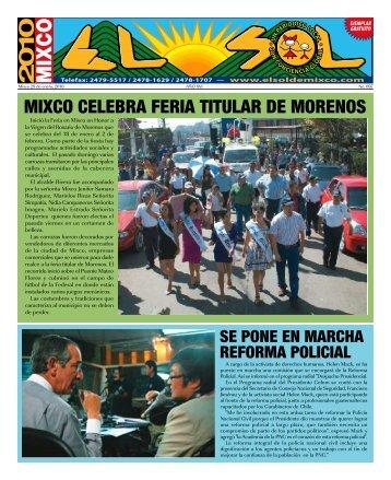 mixco celebra feria titular de morenos - ElsoldeMixco.com