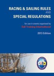 Racing and Sailing Rules 2013 - Sail Training International