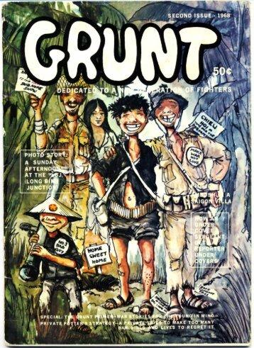 Grunt 2nd Issue 1968 - Craig Sams