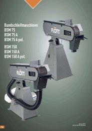 Produktblatt BSM 150 A herunterladen (.pdf, 0.18MB) - Flott