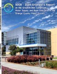 OCWD 2008 2009 Engineers Report - Orange County Water District