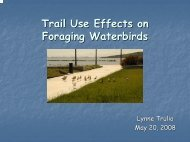 Trulio Talk on Shorebirds - South Bay Salt Pond Restoration Project
