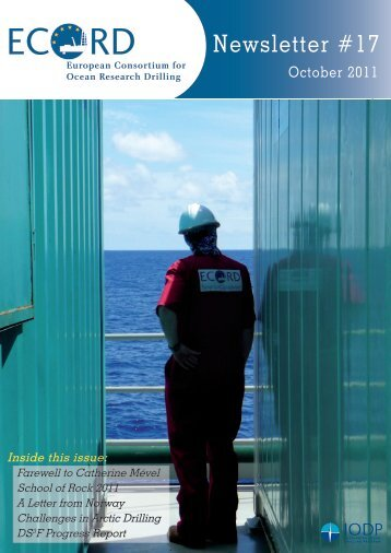Newsletter #17 - European Consortium for Ocean Research Drilling