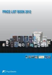price list book 2012