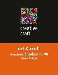 Sample Curriculum - Creative Crafts