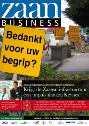 Krijgt de Zaanse infrastructuur een impuls dankzij ... - Zaanbusiness