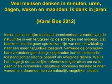 Karel Bos 2012 - VeldwerkPlaatsen