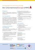 Der UnternehmensManager HWK download - Handwerkskammer ... - Seite 2