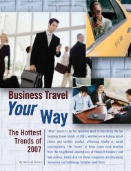 Business Travel Your Way - Forbes Special Sections